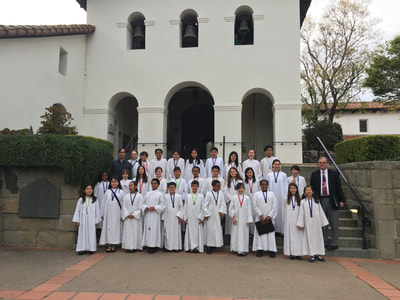 St. Mary's Choir California Missions Trip 2018